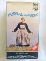 THE SOUND OF MUSIC,  2 TAPE SET, JULIE ANDREWS, CBS/FOX VIDEO, 1965/1986 - $9.46