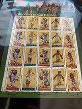 United States Indian Dances m/s mnh 1996    stamps - $9.95