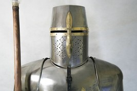 Medieval Wearable Templar Knight Full Suit Of Armor Collectible Armor Co... - $799.00