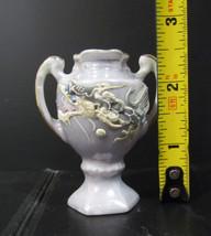 Handmade Dragonware Faux Nippon Miniature Vase - $18.90