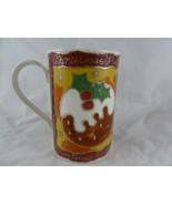 Dunoon Stoneware Coffee tea Mug Cup  Christmas Wishes Santa Made in Scot... - $10.88
