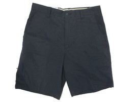 Dockers Nwt Blue Cotton Twill Loose Fit Flat Front Short - Size 32 - $18.95