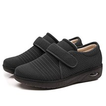 Women's Air Cushion Swollen Foot Shoes, Soft Adjustable Slippers for Dia... - $53.59