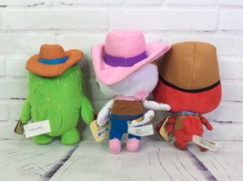Disney Junior Sheriff Callie's Wild West Toby Peck 8in Plush Dolls Lot Of 3 - $54.69