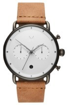 MVMT Watches | Men's | Checker White Caramel | Blacktop | 47mm | SALE - $153.00