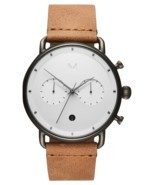 MVMT Watches | Men's | Checker White Caramel | Blacktop | 47 MM | 30% off - $129.00