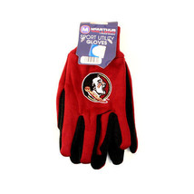 Florida State All PURPOSE/UTILITY Work Gloves Adults Ncaa Seminoles Fsu - $6.88