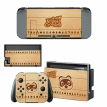 Animal Crossing Tom Nook Cartoon Nintendo Switch Joy-Con Dock Vinyl Skins Decals - $9.50