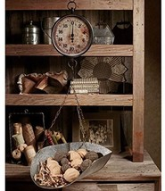 Decorative Hanging Vintage Market-Scale Office ... - $94.77