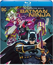 Batman Ninja (2018, Blu-ray+DVD)