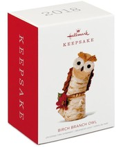 Hallmark: Birch Branch Owl - Keepsake Ornament 2018 - $23.89