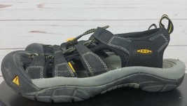 Keen Newport H2 Black Mens Closed-Toe Hiking Trail Outdoor Sporty Sandals SZ 8.5 - $71.99
