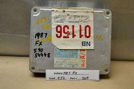 1987 Toyota Corolla FX16 AT Engine Control Unit ECU 8966102021 Module 09 9J2 - $89.09