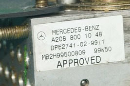 Mercedes W208 CLK320 CLK 430 Convertible Top Hydraulic Pump Motor A2088001048 image 2