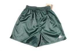 Vintage 90s Neuf Adidas Homme Petit Sort Out Football Gym Jogging Short ... - $42.74
