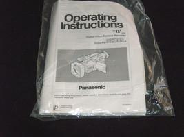 Panasonic AG-DVX100AP Digitale Videocamera Registratore User Manuale Ist... - $27.59