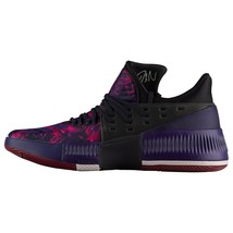 adidas Mens Dame 3 Rose City Damian Lillard Pink Purple Red Shoes B49509... - $89.95