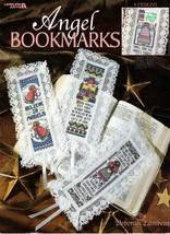Angel Bookmarks by Deborah Lambein Cross Stitch Leaflet 3241 Angels Heav... - $6.95