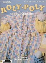 "Leisure Arts ""Roly-Poly Baby Afghans"" 6 Designs - Gently Used - $5.50"