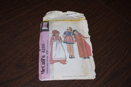 Vintage McCall's Toddler Girl's Dress Sewing Pattern Sz 3 4286 AS IS '74 - $9.74