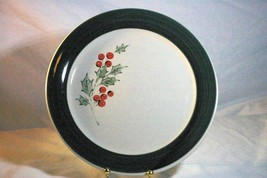 "Home By Gibson Holly Accent Christmas Dinner  Plate 9 1/2"" - $6.23"