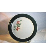"""Home By Gibson Holly Accent Christmas Dinner  Plate 9 1/2"""" - $6.23"""