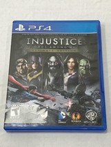 Injustice: Gods Among Us - Ultimate Edition (Sony PS4, 2013) - $10.84