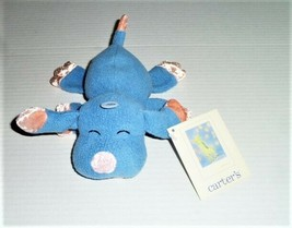 Carters Emu Namae 2000 Stuffed Plush Blue Peach Orange Puppy Dog Rattle ... - $59.39
