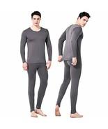 Giam Vico2 Feelvery Men's Natural Soft Tencel Long Johns Top & Bottom Th... - $931,81 MXN