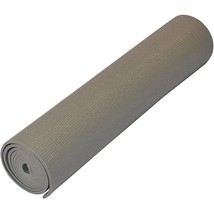 Yoga Direct Deluxe Extra Thick Yoga Sticky Mat, Gray, 1/4-Inch - $23.57