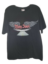2008 Bon Jovi The Lost Highway Tour Rock T Shirt L - $10.00
