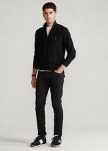 NEW Polo Golf Ralph Lauren $110 1/4 Zip Pullover Sweater Black Men's, Large - $62.96