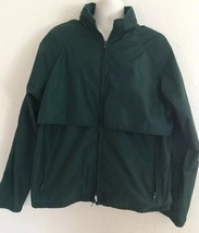 Vintage Eddie Bauer Men's XL Windbreaker Jacket Nylon Hidden Hood Teal V... - $24.70