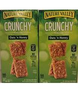 Nature Valley ( 2 PACK BOX Super Saver ) Crunchy Granola Bars Oats 'N Ho... - $53.73