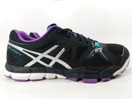 Asics Gel Craze TR 2 Sz 9 M (B) EU 40.5 Womens Training Shoes Black Purple S553Y