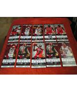NBA 2011-12 Chicago Bulls Full Unused Ticket Stubs (Hawks, 76ers, Piston... - $3.95
