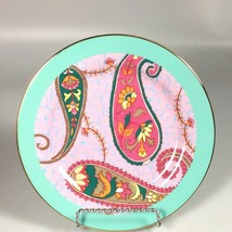 Anthropologie Salad Plate Paisley multicolored contemporary dessert plate - $27.47