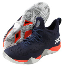 ASICS Blaze NOVA Men's Basketball Shoes Casual Navy Orange NWT 1061A020-400 - $174.71