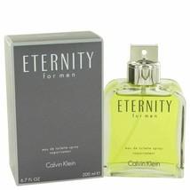 Cologne ETERNITY by Calvin Klein 6.7 oz Eau De Toilette Spray for Men - $47.46