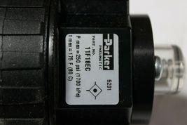 "Parker 11F18EC 11F Series Pneumatic Compact Coalescing Filter 1/4"" Ports New image 4"