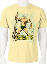 Sub Mariner Dri Fit graphic Tshirt moisture wicking superhero comic book SPF tee image 1