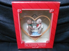 "Hallmark Keepsake ""First Christmas Together"" 1988 Ornament NEW - $6.44"