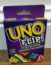 Mattel UNO Flip The Deck Double Sided Card Game for 2-10 Players Ages 7+... - $5.89