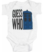 Dr. Doctor Who Guess Who Phone Booth Baby Bodysuit - $5.95
