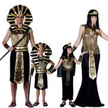 Egypt Pharaoh Costumes For Halloween Party Adults Clothing Egyptian Phar... - $23.76+