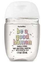 Bath & Body Works Pocketbac SIMPLE CITRUS BE A GOOD HUMAN Hand Sanitizer... - $3.75