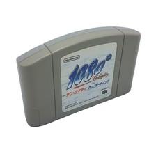 1080°Snowboarding Nintendo N64 Japonés Limpiado Probado Japón Cart - $14.88