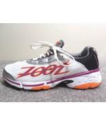 ZOOT Z Bound Energy 2.0 Running Shoes Women's Size 10 White,Orange,Purpl... - $29.39