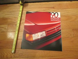 Dodge Monaco 1990 Dealership Dealer car Sales Brochure - $8.99