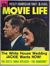 ORIGINAL Vintage July 1964 Movie Life Magazine JFK John Jackie Kennedy - $19.79